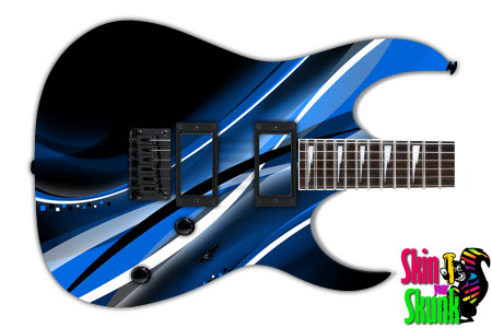 Buy Guitar Skin Abstractone Blue