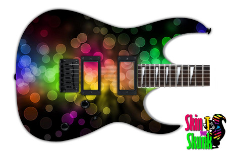Buy Guitar Skin Abstractone Dots