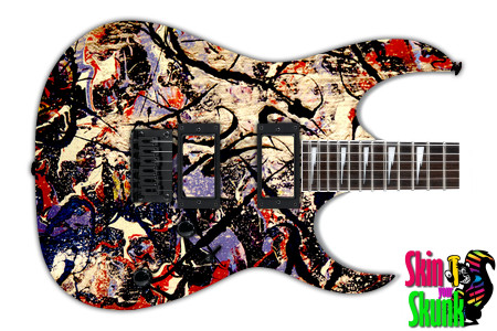 Buy Guitar Skin Abstractone Graffiti