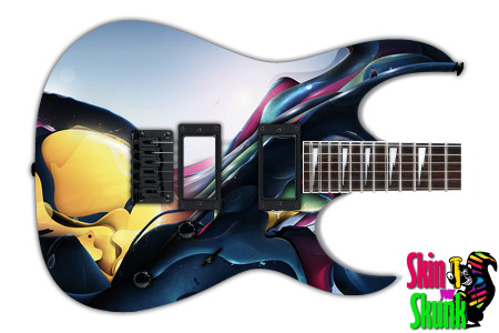 Buy Guitar Skin Abstractone Melt