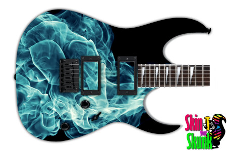 Buy Guitar Skin Abstractone Smoke