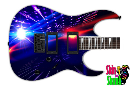 Buy Guitar Skin Abstractone Stars