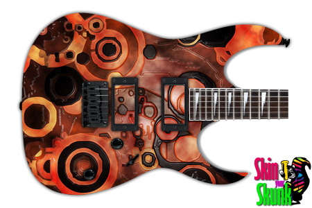 Buy Guitar Skin Abstractthree Lava