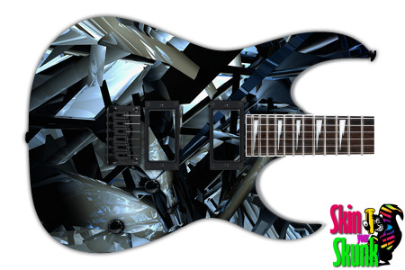 Buy Guitar Skin Abstractthree Shatter