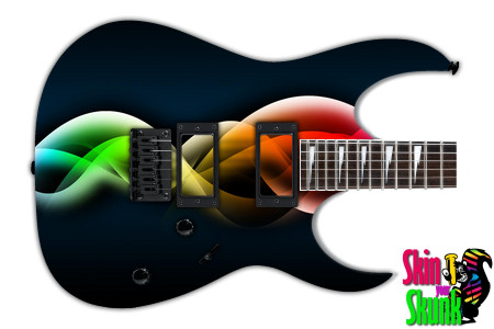 Buy Guitar Skin Abstractthree Waves
