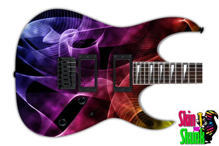 Buy Guitar Skin Abstractthree Wormhole