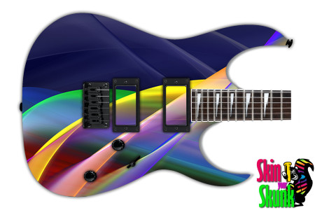 Buy Guitar Skin Abstracttwo Curves