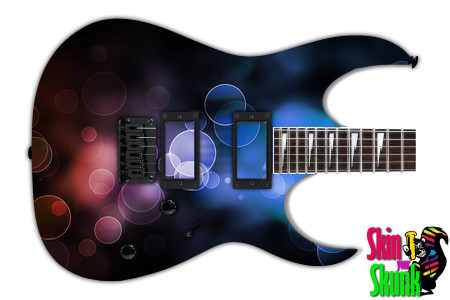 Buy Guitar Skin Abstracttwo Dots