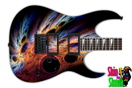 Buy Guitar Skin Abstracttwo Lifeform