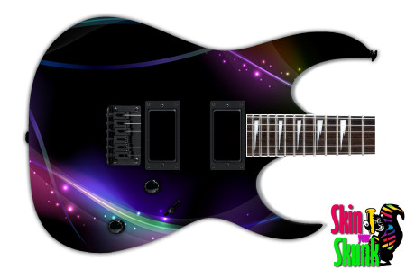 Buy Guitar Skin Abstracttwo Lines