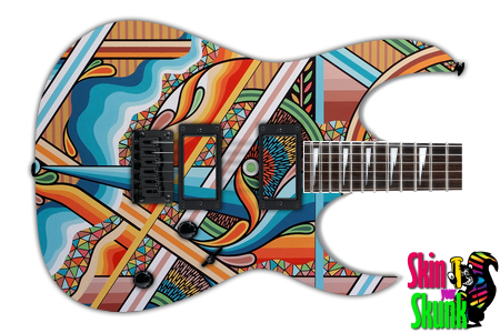 Buy Guitar Skin Awesome Abstract