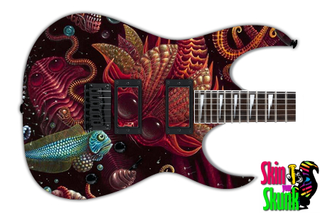 Buy Guitar Skin Awesome Alien