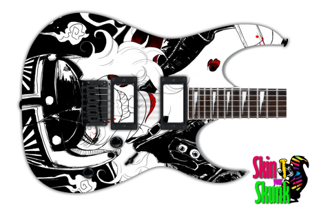 Buy Guitar Skin Awesome Bikergirl