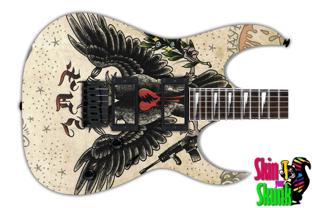 Buy Guitar Skin Awesome Crows