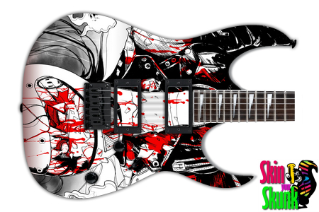 Buy Guitar Skin Awesome Hellgirl