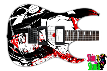 Buy Guitar Skin Awesome Killgirl