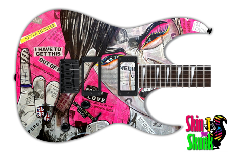 Buy Guitar Skin Awesome Radgirl