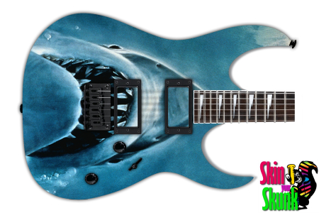 Buy Guitar Skin Awesome Shark