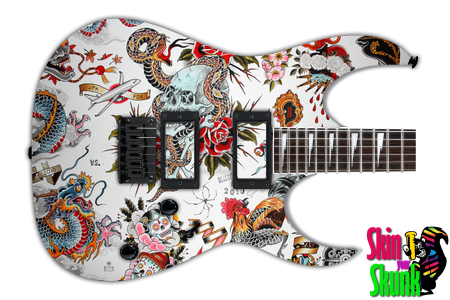 Buy Guitar Skin Awesome Tattoo