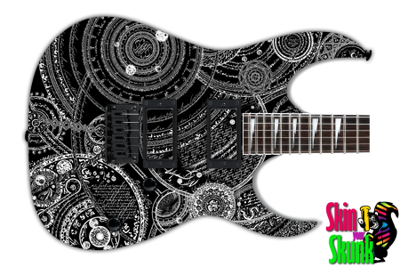 Buy Guitar Skin Awesome Witchcraft