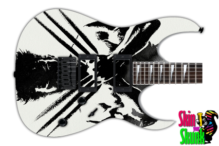 Buy Guitar Skin Awesome Wolverine