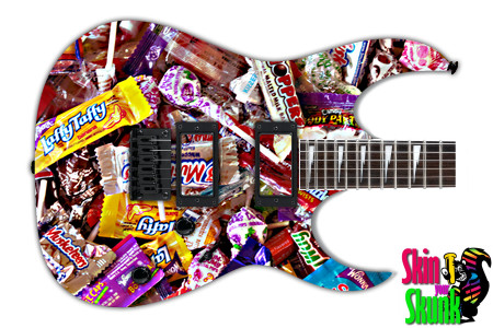 Buy Guitar Skin Beautiful Candy