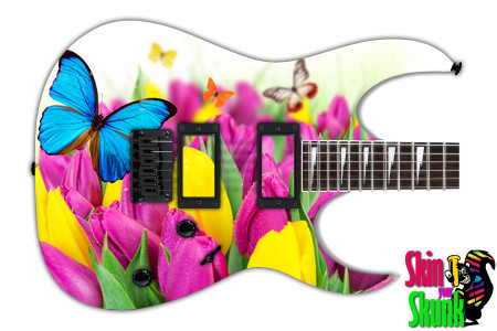 Buy Guitar Skin Beautiful Flowers