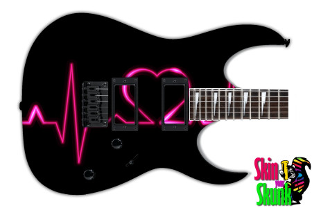 Buy Guitar Skin Beautiful Heart