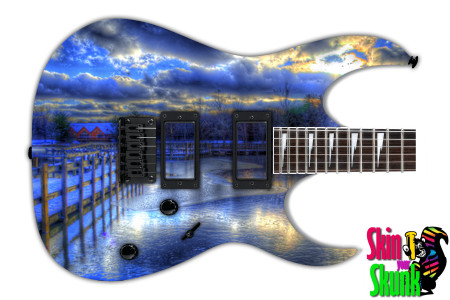 Buy Guitar Skin Beautiful Scene
