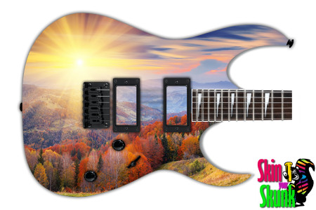 Buy Guitar Skin Beautiful Sun