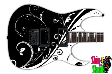 Buy Guitar Skin Bw1 Floral