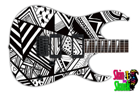 Buy Guitar Skin Bw1 Lines