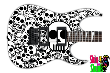 Buy Guitar Skin Bw1 Skulls