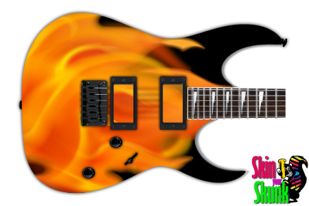 Buy Guitar Skin Fire Airbrush