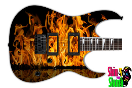 Buy Guitar Skin Fire Area