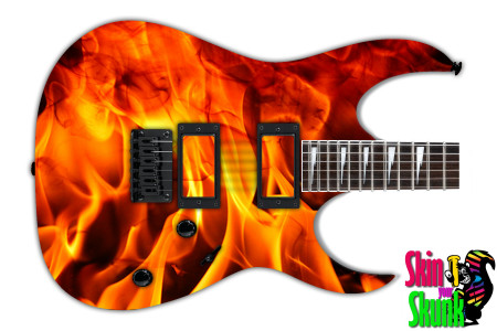 Buy Guitar Skin Fire Blaze