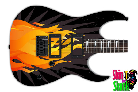 Buy Guitar Skin Fire Burst