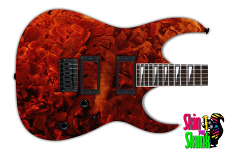 Buy Guitar Skin Fire Cloud