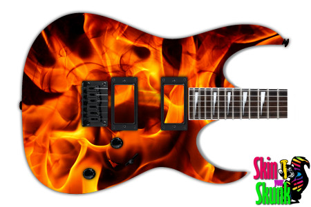 Buy Guitar Skin Fire Combust