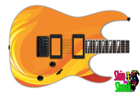 Buy Guitar Skin Fire Designer
