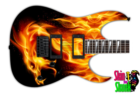 Buy Guitar Skin Fire Dragon