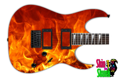 Buy Guitar Skin Fire Embers