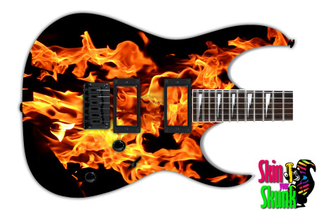 Buy Guitar Skin Fire Erupt