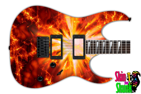 Buy Guitar Skin Fire Explode