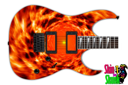 Buy Guitar Skin Fire Hole
