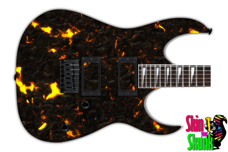 Buy Guitar Skin Fire Lava