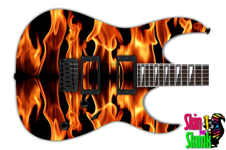 Buy Guitar Skin Fire Line