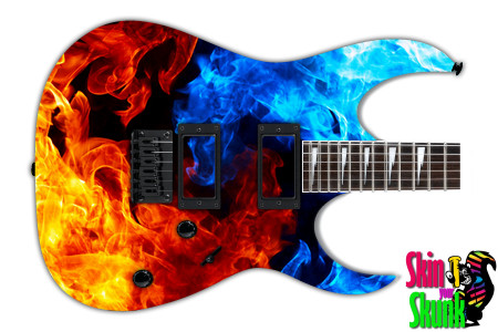 Buy Guitar Skin Fire Mixture