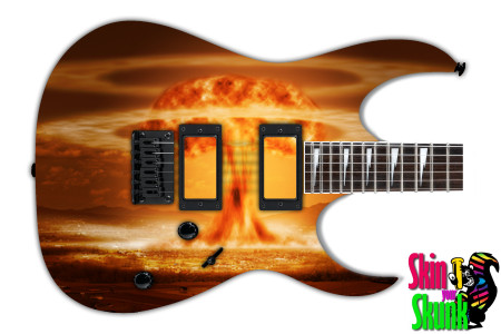 Buy Guitar Skin Fire Nuclear