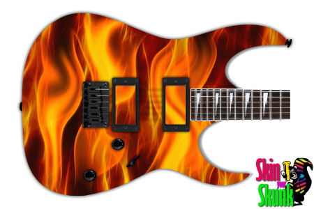 Buy Guitar Skin Fire Pillar